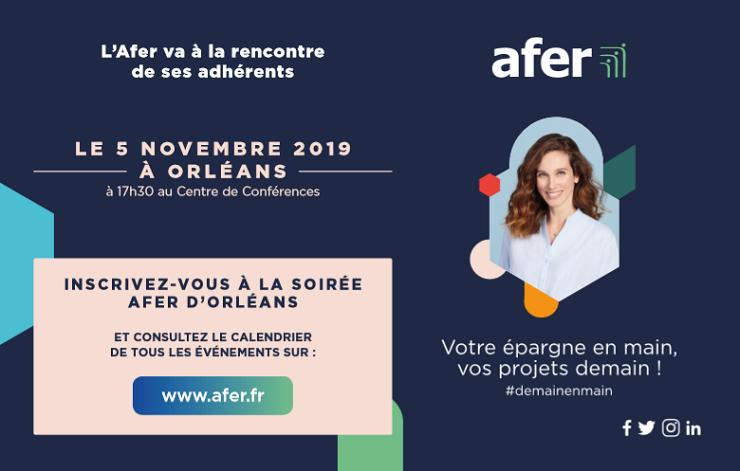 L'Afer : médiatisation des soirées régionales  février-décembre 2019